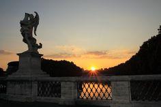 ''Alba sul Ponte Sant'Angelo - #2'' - Roma