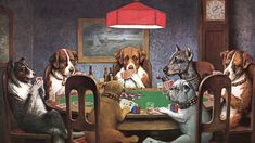 A Friend in Need Dogs Playing Poker Art Print for sale. Shop your favorite cassius marcellus coolidge A Friend in Need Dogs Playing Poker Art Print without breaking your banks. Doberman Pinscher, Hanging Tapestry, Wall Tapestry, Dogs Playing Poker, Cats Playing, Playing Cards, Gaming Wall Art, Canvas Art, Canvas Prints