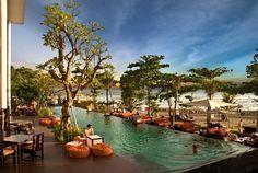 Beautiful Places To Visit, Beautiful Beaches, Places To See, Bali Resort, Resort Spa, Bali Beach Resorts, Bali Accommodation, Bali Honeymoon, Honeymoon Destinations
