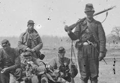 images of our civil war | ... Union soldiers posing at Centreville, VA | American Civil War Forums