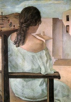 Girl from the Back (1925) by Salvador Dalí
