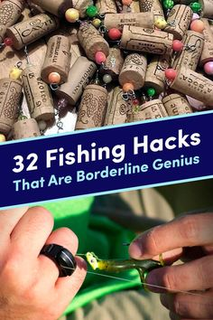 32 Fishing Hacks That Are Borderline Genius - 32 Genius Fishing Tips You'll W. - 32 Fishing Hacks That Are Borderline Genius – 32 Genius Fishing Tips You'll Wish You'd Known - Fishing Videos, Fishing Guide, Best Fishing, Fishing Tackle, Fly Fishing, Fishing Boats, Walleye Fishing, Fishing Cart, Alaska Fishing