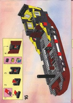 Thousands of complete step-by-step printable older LEGO® instructions for free. Here you can find step by step instructions for most LEGO® sets. Lego Instructions, Step By Step Instructions, Lego Sets, Nerf, User Guide, Pirates