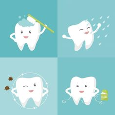 Good Oral Hygiene Takes Time A white smile doesn't happen overnight. Several small positive changes in your routine will contribute to this gradual process. Plaque, the sticky film of bacteria constantly forming at the gum line and on the surfaces of your teeth, can take time to remove. Brush your teeth two to three minutes at a time, and twice daily.