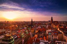 Mostek Pokutnicki to miejsce gdzie Wrocław ukazuje swoje piękno - punkty widokowe.