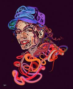 Michael Jackson's portrait