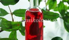 Λικέρ ρόδι Cocktail Drinks, Cocktails, Pomegranate Liqueur, Greek Recipes, Food To Make, Vodka, Drinking, Alcohol, Stuffed Peppers