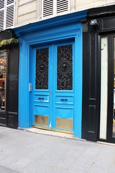 blue door images | With Love From Kat: The Doors of Paris