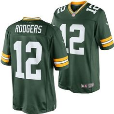 Green Bay Packers Aaron Rodgers #12 Limited Edition Jersey (Green)
