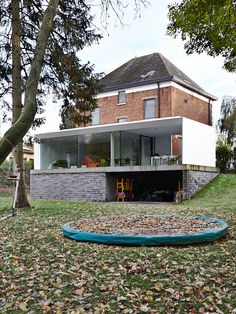 Lede, Belgium House.  NOT a shipping container house.