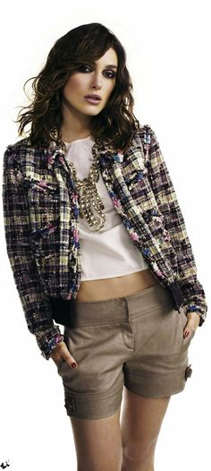 Keira Knightley for ELLE