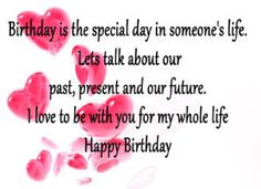 Birthday wishes for love partner : Birthday messages, images and quotes