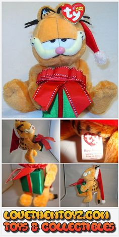 "UNIQUE TOY & CARTOON COLLECTIBLES-TY GARFIELD SANTA-8""-NEW W/TAGS-HOLDING FANCY GIFT-SANTA HAT-PLASTIC NOSE-PERSONALIZE YOUR TAG-8X5X3 INCHES-2005 https://lovethemtoyz.com/shop?olsFocus=false&olsPage=products/ty-garfield-santa-9-new-wtags-holding-fancy-gift-santa-hat-8x5x3-inches-2005"