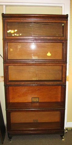 globewernicke antique barrister bookcase local pickup by caitnah 69500
