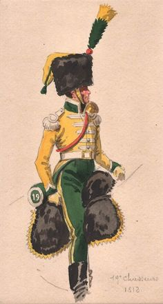 Empire, French Revolution, Napoleonic Wars, Military Art, Troops, Period, Movie Posters, Illustrations, Hunters