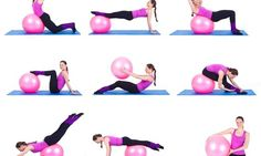 If you want to strengthen your muscles as well as recovers the arrangement of your body parts then select a correct size of Swiss ball. Here are the 7 best Swiss Ball Exercises for you. Killer Workouts, Toning Workouts, Easy Workouts, Fat Workout, Exercise To Reduce Waist, Reduce Thigh Fat, Reduce Thighs, Swiss Ball Exercises, Stability Ball Exercises