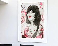 KasiaGach w Etsy Music, Prints, Anime, Etsy, Author, Muziek, Anime Shows, Musik, Songs