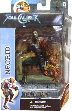 McFarlane Toys Soul Calibur II Necrid Action Figure