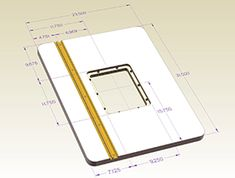 """24"""" x 32"""" Center Mount Router Table Dimensions"""