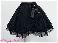 *NEED*angelic pretty skirts | Gothic Lolita Skirt by Angelic Pretty | Deliciously Dark Clothing | P ...