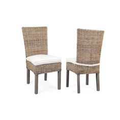 This Casual Side Chair Is Woven Out Of Natural Abaca Fibers Featuring Tan And Off