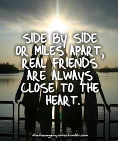 Real Friends Are Always Close To The Heart quotes quote friends best friends bff… Guy Friend Quotes, Besties Quotes, Guy Friends, Bffs, Close Friends, Bestfriends, Best Friend Quotes For Guys, Bestfriend Quotes Tumblr, Summer Friends Quotes