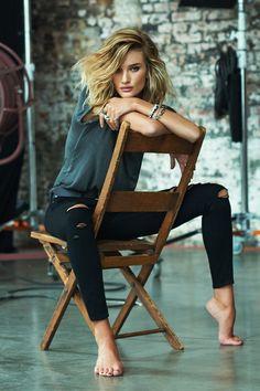 Rosie lo sabe: los skinny jeans siempre vuelven