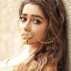 This is how Ichcha aka Tina Dutta from Uttaran looks now Nath Nose Ring, Nose Ring Jewelry, Bridal Nose Ring, Nose Rings, Indian Wedding Jewelry, Bridal Jewelry, Saris, Estilo India, Suits