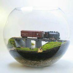 Bonsai Terrarium For Landscaping Miniature Inside The Jars 92 - DecOMG