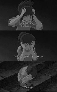 Deidara Wallpaper, Sad Wallpaper, Studio Ghibli Art, Studio Ghibli Movies, Studio Ghibli Quotes, Sad Anime Quotes, Cartoon Quotes, Movie Quotes, Sad Anime Girl
