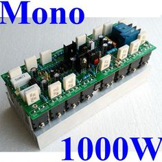 Hifi 1000W Mono Audio Power Amplifier Module Circuit Board Assembled 2000W 4ohm profession amplifier for stage ,home#1000w amplifier#Electrical Equipment & Supplies#amplifier