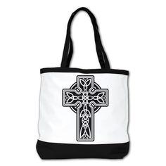 Buy New: $99.97 - Shoulder Bag Purse (2-Sided) Black Celtic Cross