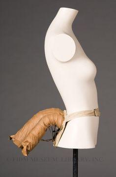 Bustle Cotton/wire c. 1885