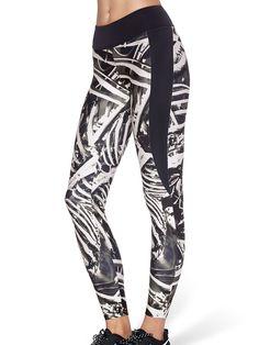 $75 Large EC Bone Machine Ninja Pants (US ONLY $95USD) by Black Milk Clothing