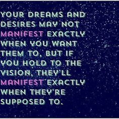 KEEP YOUR DREAMS ALIVE.....