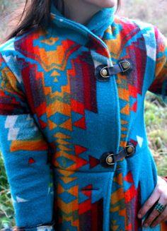 L O V E the Pendleton pattern coat!!!!
