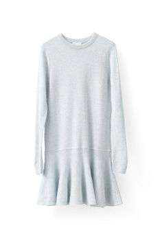 Mercer Knit Dress, Illusion Blue Melange