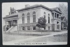 Carnegie Public Library, c. 1910