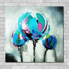 Thick Textured Tulip Palette Knife Oil Painting Handmade No Frame Knife Oil Painting On Canvas Wall Art Decoration. Subcategory: Home Decor. Floral Painting, Oil Painting Flowers, Tulip Painting, Painting, Art, Abstract Flower Painting, Canvas Painting, Hanging Paintings, Flower Canvas