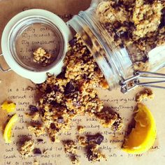 This Vegan Chocolate Orange Granola is not only good for your belly and the environment but also great for your purse strings!