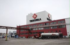 This factory produces more paint than any other factory in Finland.