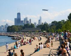 The co-owners of men's boutique Haberdash whisk us through a day in the Windy City. Chicago Lake, Chicago Travel, Chicago City, Bike Trails, Biking, Air Show, Best Cities, Dolores Park, The Neighbourhood