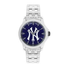New York Yankees Skybox Series Watch -NY3   * Stainless steel case back and band* Scratch resistant mineral crystal* Shock and water resistant to 99 feet* Gift boxed in a custom Yankees box* Miyota Qu