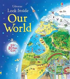 This beautifully illustrated picture atlas takes children on a magical journey around the world. Each map is crammed with fascinating details to pore over and talk about, making this a wonderful book for sharing.