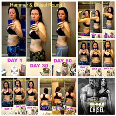 My official Round 1 results!!! I GAINED two lbs in muscle ya'll...#gettingtoned #hammerandchisel #autumncalabrese #sagi #beachbody #shakeology #abs #weights #lifting #chiseled #hammered #workout #cardio #healthy #cleaneating #itispossible #sweatingforsummer #gettingthere