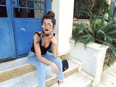 For collaborations: venetia_kamara@hotmail.gr   #casual #chic #classic #fitness #croptop #dapper #elegant #preppy #artistic #black #retro #romantic #sporty #street #vintage #blogger #greece #timeless #evening #summer #united #kingtom #momjeans #mom #comfy #messy #bun #fashionista #rainy #longhair #northamerica  #highwaisted #jeans