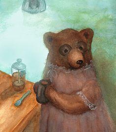 Teddy Bear's Tea Party by Sirje on Etsy