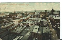 Vintage Postcard 1914 Chattanooga TN Tenn. View From James Building Post Card