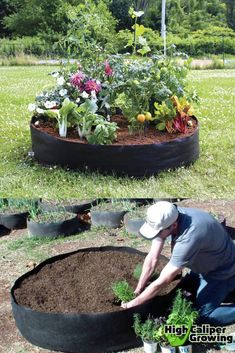 28 Best DIY raised bed gardens: easy tutorials, ideas & designs to build raised beds or vegetable & flower garden box planters with inexpensive materials! - A Piece of Rainbow backyard, landscaping, gardening tips, homesteading Metal Raised Garden Beds, Raised Garden Bed Plans, Building Raised Garden Beds, Raised Beds, Raised Gardens, Back Garden Design, Vegetable Garden Design, Garden Yard Ideas, Diy Garden Projects