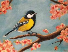 Video on Katrina Canedo Art Illustrations, Bird, Painting, Animals, Design, Animales, Animaux, Painting Art, Paintings